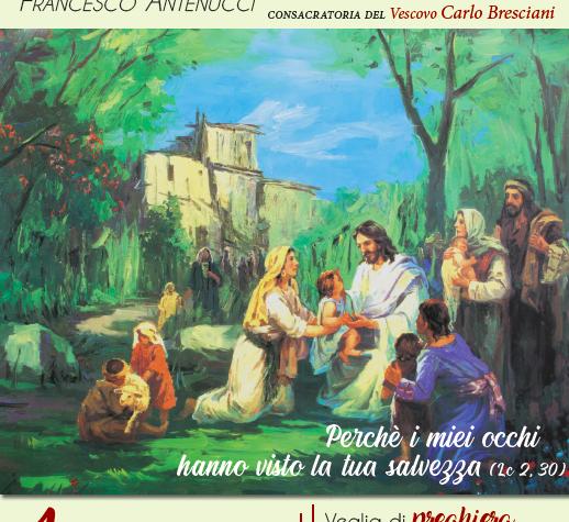 FRANCESCO DIVENTA DIACONO